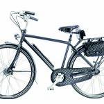 Originální jízdni kolo s odlehčeným karbonovým rámem z limitované edice, které vzniklo na počest samotné Coco Chanel. Součástí výbavy jsou kožené kapsy z telecí kůže. Od Chanelu můžete mít za 340 000 Kč.