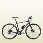 Jízdní kolo z kolekce Bianchi by Gucci s odlehčeným karbonovým rámem. Kolo je vybaveno jedenácti rychlostmi a hydraulickými kotoučovými brzdami. Řidítka a sedadlo jsou potaženy jemnou telecí kůží. Od Gucci za 280 000 Kč.