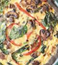 Zeleninovy quiche