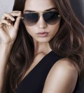 Panthere de Cartier sunglasses,champagne gold finish, grey lenses_image