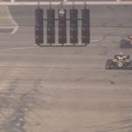 Poslední metry Fittiapldiho a cílová šachovnice