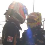 Binder a Fittipaldi si vzájemně gratulovali