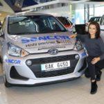 Také Česká Miss se vozí v Hyundai