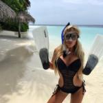 Dominika je sexy v každé situaci