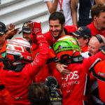 Radost v týmu Charouz Racing System byla veliká