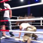 Saša vplula do ringu jako správný živel střihla si šipku jak hokejisti