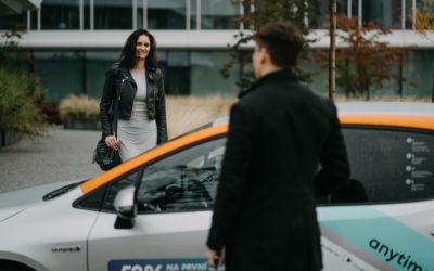 Anytime carsharing uvádí na trh novou službu určenou pro firmy.  Vhodná je pro pracovní cesty i jako benefit